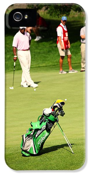 Patiently iPhone 5 Cases - Golf Day iPhone 5 Case by Karol  Livote