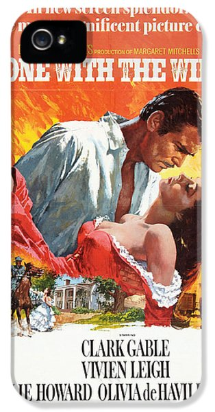 Epic iPhone 5 Cases - Gone With the Wind - 1939 iPhone 5 Case by Nomad Art And  Design