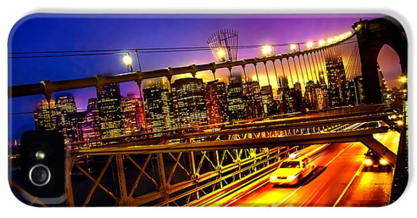 Taxi iPhone 5 Cases - Goodbye New York City iPhone 5 Case by Az Jackson