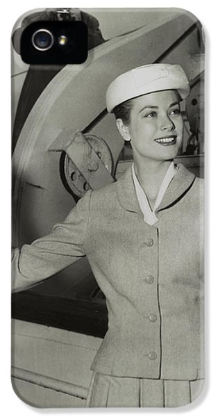 Grace Kelly In 1956 IPhone 5 / 5s Case by Mountain Dreams