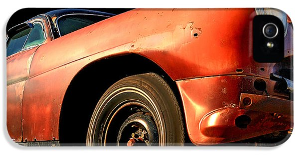 Vintage Car iPhone 5 Cases - Grandpa Hudson iPhone 5 Case by Ron Day