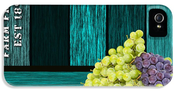 Grape Sign IPhone 5 / 5s Case by Marvin Blaine