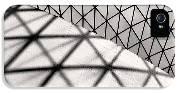 Architecture iPhone 5 Cases - Great Court Abstract iPhone 5 Case by Rona Black