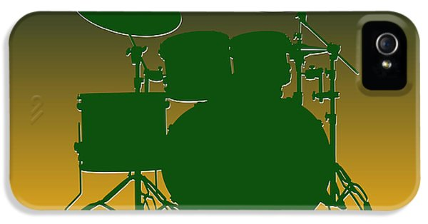 Green Bay Packers Drum Set IPhone 5 / 5s Case by Joe Hamilton