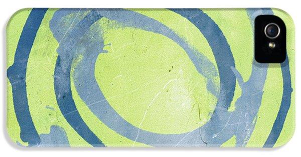 Green Blue IPhone 5 / 5s Case by Julie Niemela