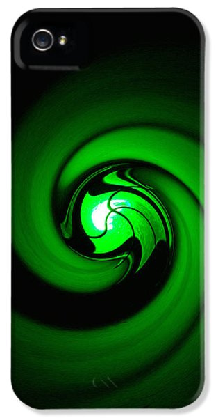 Circling iPhone 5 Cases - Green Lantern  iPhone 5 Case by Art Block Collections