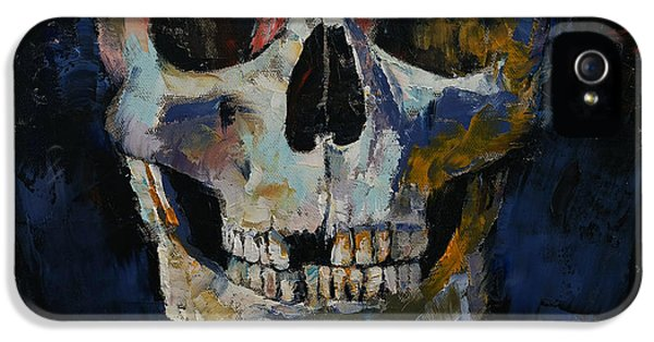 Grim Reaper iPhone 5 Cases - Grim Reaper iPhone 5 Case by Michael Creese