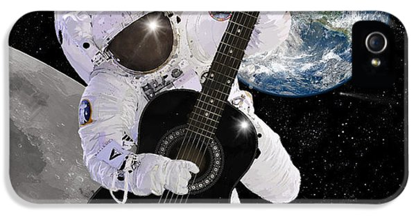 Space iPhone 5 Cases - Ground Control to Major Tom iPhone 5 Case by Nikki Marie Smith