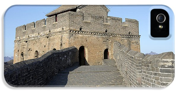 Nl iPhone 5 Cases - Guards Tower on the Great Wall of China iPhone 5 Case by Brendan Reals