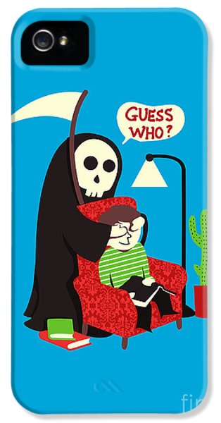 Reaper iPhone 5 Cases - Guess Who iPhone 5 Case by Budi Satria Kwan