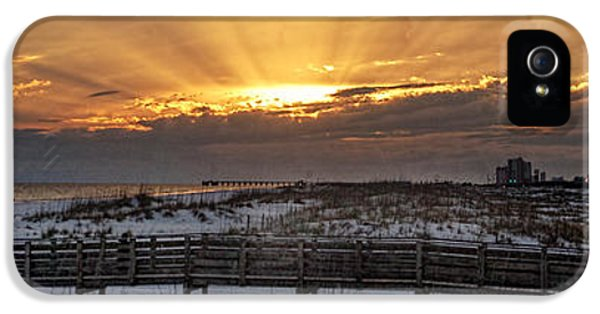 Micdesigns iPhone 5 Cases - Gulf Shores From Pavilion iPhone 5 Case by Michael Thomas
