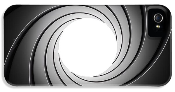 Gun Barrel From Inside IPhone 5 / 5s Case by Johan Swanepoel