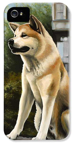 Moviestar iPhone 5 Cases - Hachi iPhone 5 Case by Paul  Meijering