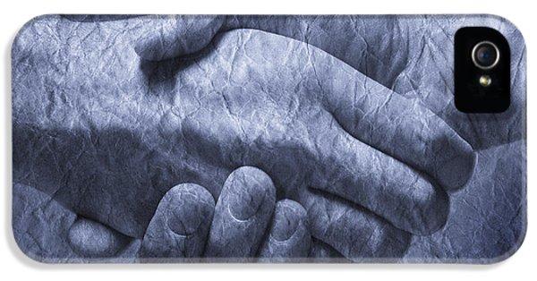 Greet iPhone 5 Cases - Handshake iPhone 5 Case by Don Hammond