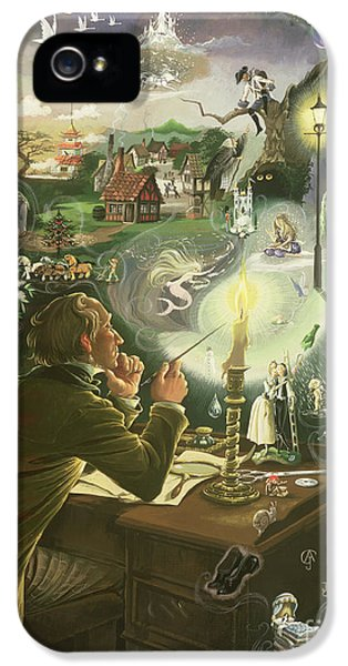 Hans Christian Andersen IPhone 5 / 5s Case by Anne Grahame Johnstone