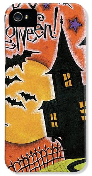 Happy Halloween IPhone 5 / 5s Case by Anne Tavoletti
