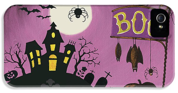 Happy Haunting Boo IPhone 5 / 5s Case by Lisa Audit