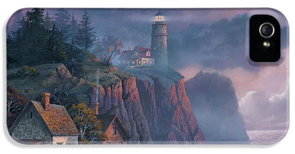 Harbor Light Hideaway IPhone 5 / 5s Case by Michael Humphries