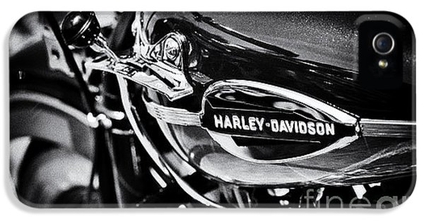 Harley Davidson Monochrome IPhone 5 / 5s Case by Tim Gainey
