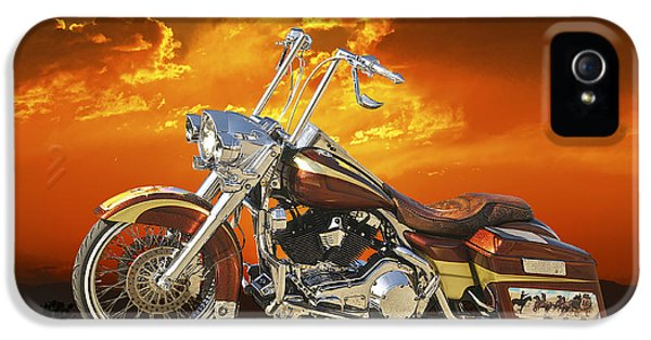 Fabrication iPhone 5 Cases - Harley Davidson Outlaw Bagger II iPhone 5 Case by Dave Koontz
