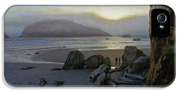 Oregon Coast iPhone 5 Cases - Harris Beach Rendezvous iPhone 5 Case by Paul Krapf