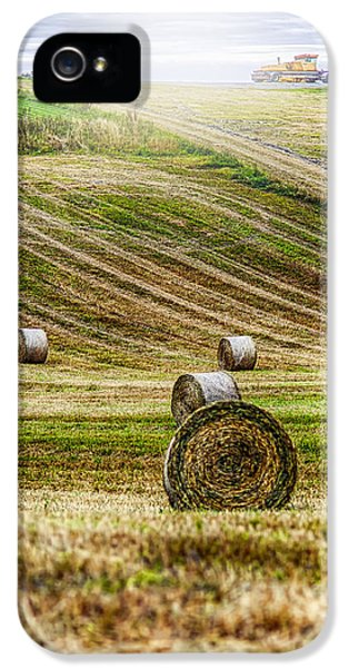 Agricultural iPhone 5 Cases - Harvest Day iPhone 5 Case by Erik Brede