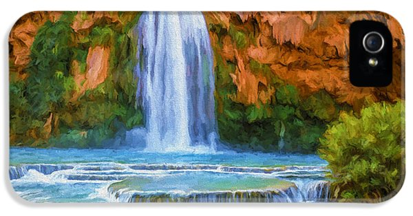 Havasu Falls IPhone 5 / 5s Case by David Wagner