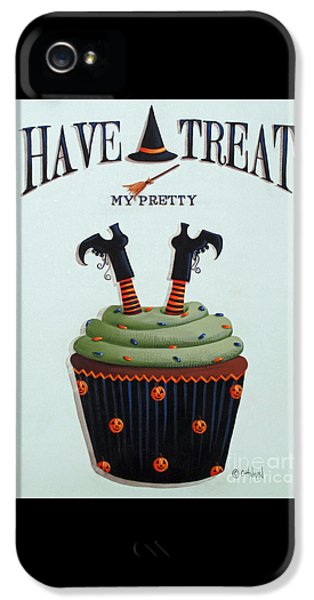 Witch iPhone 5 Cases - Have A Treat My Pretty iPhone 5 Case by Catherine Holman