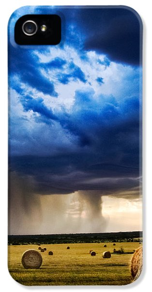 Storm iPhone 5 Cases - Hay in the Storm iPhone 5 Case by Eric Benjamin