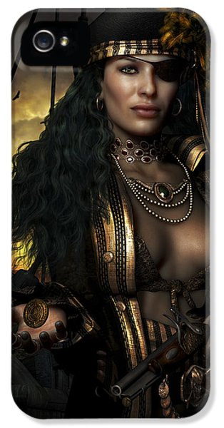 Masquerade iPhone 5 Cases - Heads You Lose iPhone 5 Case by Shanina Conway
