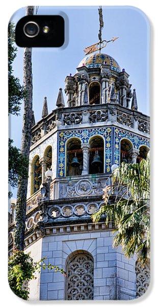 Casa Encantada iPhone 5 Cases - Hearst Castle Tower - California iPhone 5 Case by Jon Berghoff