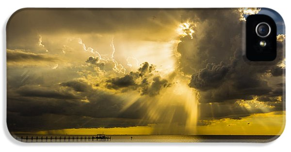 Rain.window iPhone 5 Cases - Heavens Window iPhone 5 Case by Marvin Spates
