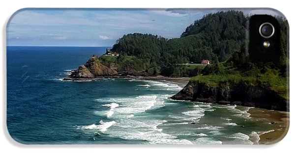Cell iPhone 5 Cases - Heceta Head iPhone 5 Case by Darren  White