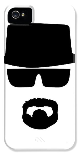 Bad iPhone 5 Cases - Heisenberg Breaking Bad iPhone 5 Case by Caio Caldas