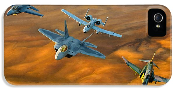 Heritage iPhone 5 Cases - Heritage Flight II iPhone 5 Case by Dale Jackson