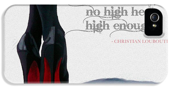 High Heel iPhone 5 Cases - High Heels iPhone 5 Case by Rebecca Jenkins