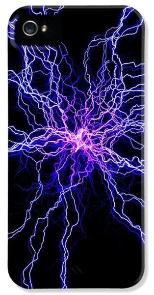 High Voltage Discharge IPhone 5 / 5s Case by David Parker
