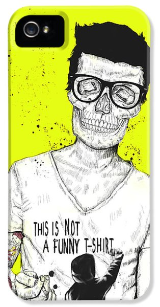 Skulls iPhone 5 Cases - Hipsters Not Dead iPhone 5 Case by Balazs Solti