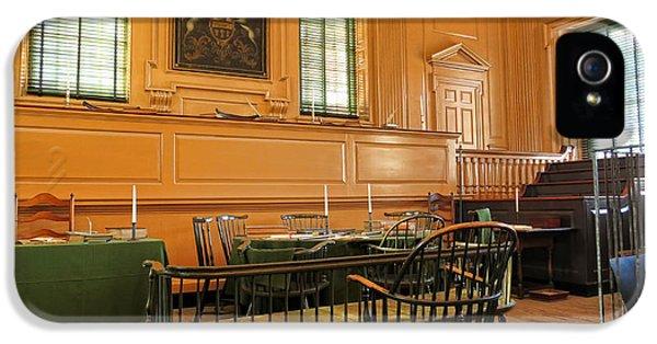 Declaration iPhone 5 Cases - Historic Supreme Court iPhone 5 Case by Olivier Le Queinec