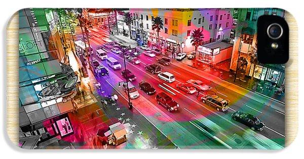 Hollywood Boulevard IPhone 5 / 5s Case by Marvin Blaine