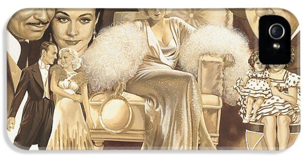 Hollywoods Golden Era IPhone 5 / 5s Case by Dick Bobnick
