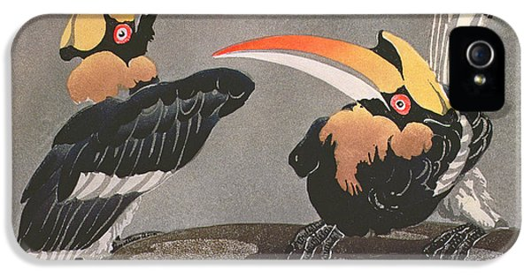 Hornbills IPhone 5 / 5s Case by Ethleen Palmer