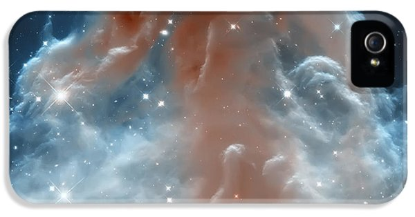 Nasa iPhone 5 Cases - Horse Head Nebula iPhone 5 Case by The  Vault - Jennifer Rondinelli Reilly
