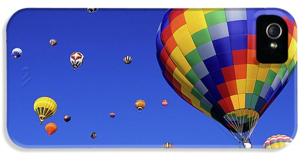 Bob Christopher iPhone 5 Cases - Hot Air Balloons 15 iPhone 5 Case by Bob Christopher