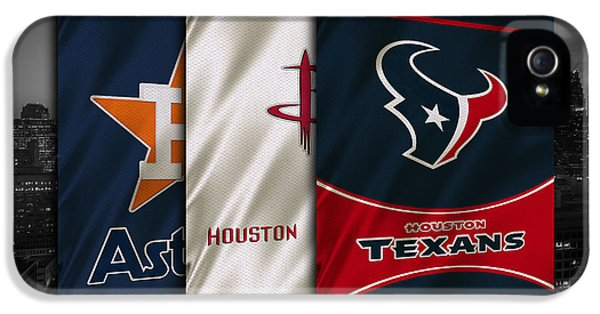 Houston Sports Teams IPhone 5 / 5s Case by Joe Hamilton