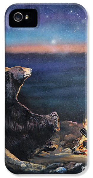 Spiritual iPhone 5 Cases - How Grandfather Bear created the Stars iPhone 5 Case by J W Baker