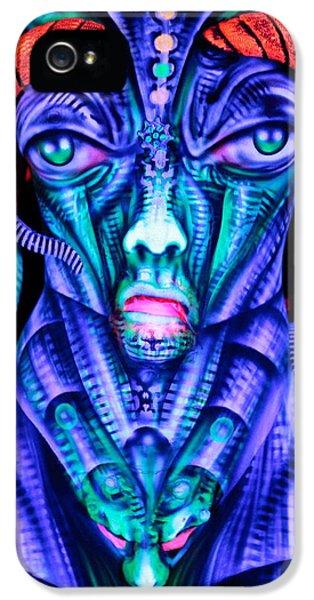 H.r. Giger Inspired D IPhone 5 / 5s Case by Alex Hansen - Julian Bartram - Cully Firmin