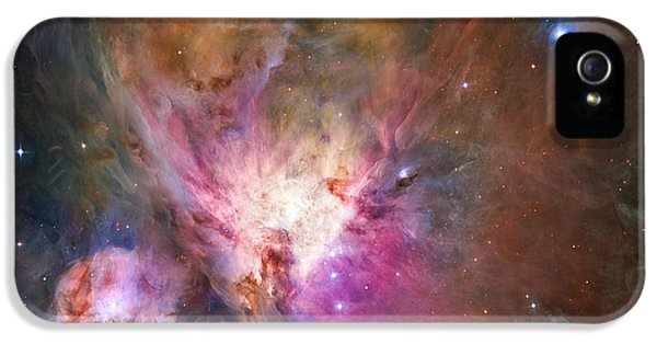 Astronomy iPhone 5 Cases - Hubbles sharpest view of the Orion Nebula iPhone 5 Case by Adam Romanowicz
