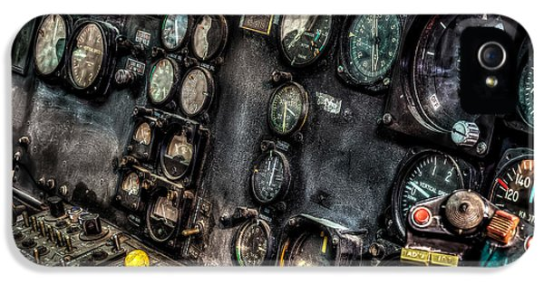 Huey Instrument Panel 2 IPhone 5 / 5s Case by David Morefield