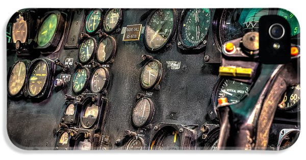 Huey Instrument Panel IPhone 5 / 5s Case by David Morefield